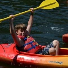 Camp Ridgecrest Canoeing 4