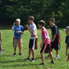 Camp Ridgecrest Football 5
