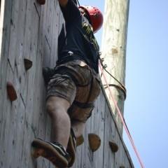 Camp Ridgecrest Rock Climbing 4