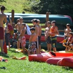 Camp Ridgecrest Canoeing 2