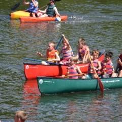 Camp Ridgecrest Canoeing 3