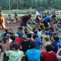 Camp Ridgecrest Campfire