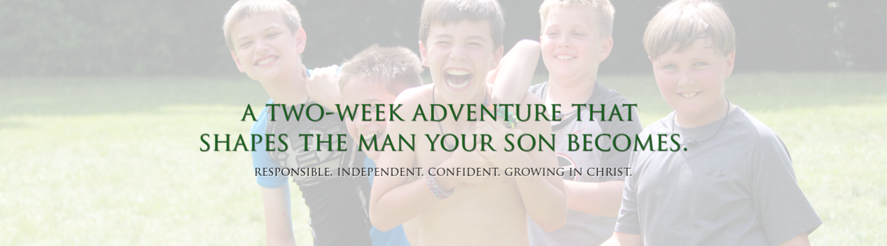 Ridgecrest Christian Summer Camps for Boys | Located in the Blue